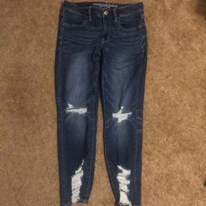 AE Next Level Stretch Jegging Crop